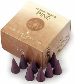 Shoyeido - Floral World - Pine - 8 Incense Cones